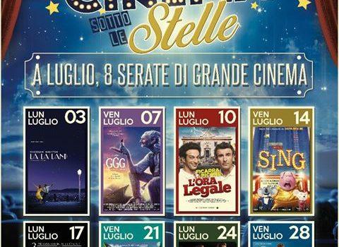 CINEMA SOTTO LE STELLE A VARESE LIGURE – A LUGLIO