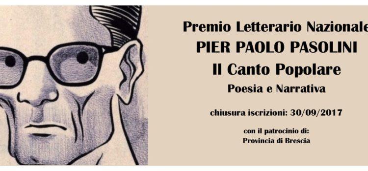 CONCORSO LETTERARIO PIER PAOLO PASOLINI