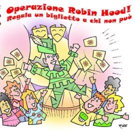 OPERAZIONE ROBIN HOOD AL TEATRO SOCIALE DI CAMOGLI