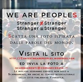 """CONTEST FOTOGRAFICO """"WE ARE PEOPLES"""""""