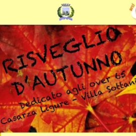 RISVEGLIO D'AUTUNNO A VILLA SOTTANIS CASARZA LIGURE