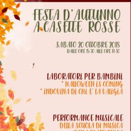 FESTA D'AUTUNNO A CASETTE ROSSE – SABATO 20 OTTOBRE 2018