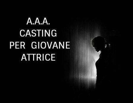 Casting per giovane attrice