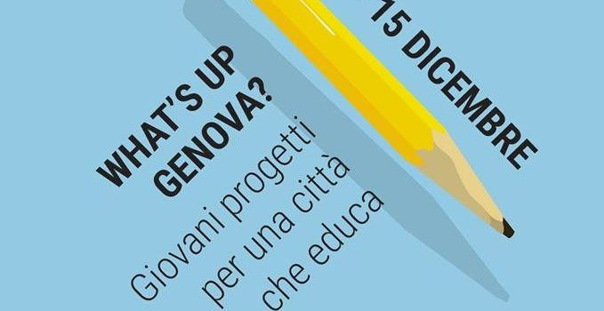 WHAT'S UP GENOVA: EVENTI E LABORATORI PER I GIOVANI