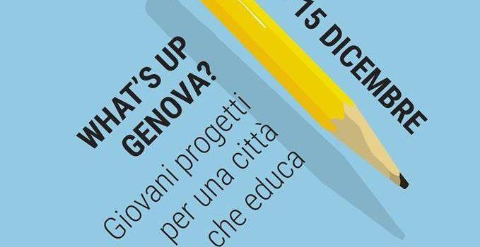 WHAT'S UP GENOVA: EVENTI E LABORATORI PER I GIOVANI