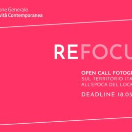 OPEN CALL FOTOGRAFICA