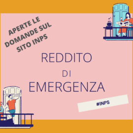 PRESENTAZIONE DOMANDE REDDITO DI EMERGENZA