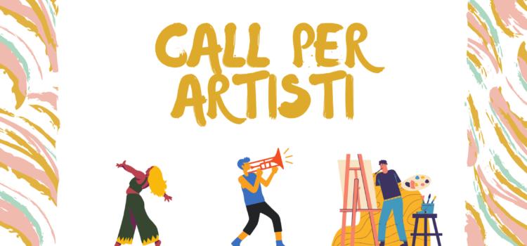 CALL PER ARTISTI