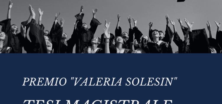 """PREMIO """"VALERIA SOLESIN"""""""
