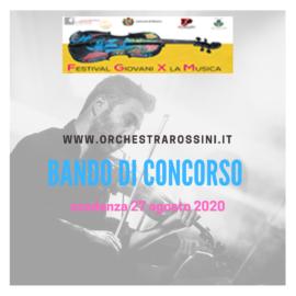 FESTIVAL GIOVANI PER LA MUSICA D'AUTORE