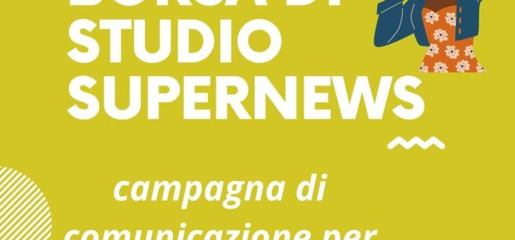 BORSA DI STUDIO SUPERNEWS SUL TEMA DEL RAZZISMO