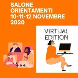 SALONE ORIENTAMENTI LIGURIA VIRTUAL EDITION DAL 10 AL 12 NOVEMBRE 2020