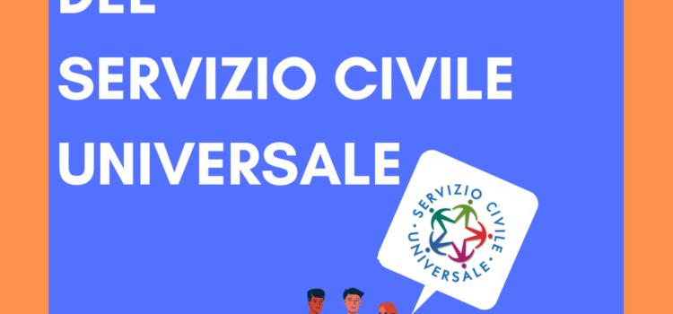 APERTO IL BANDO DEL SERVIZIO CIVILE UNIVERSALE